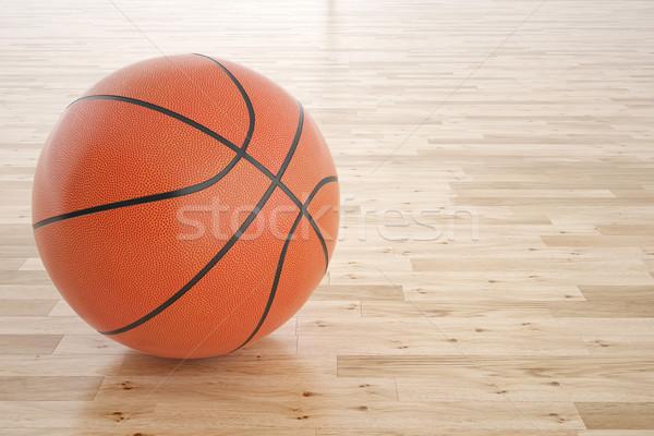 Basketbol top örnek 3D yüksek Stok fotoğraf © ZARost