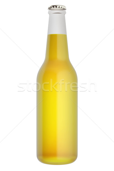 Beer  bottle isolated on white background. Stock photo © ZARost