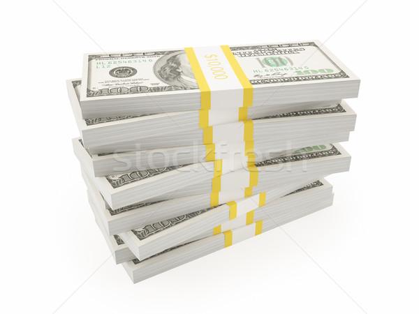 Illustration American dollars. Stock photo © ZARost