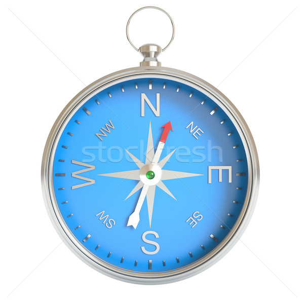 Compass isolated on white background. Stock photo © ZARost
