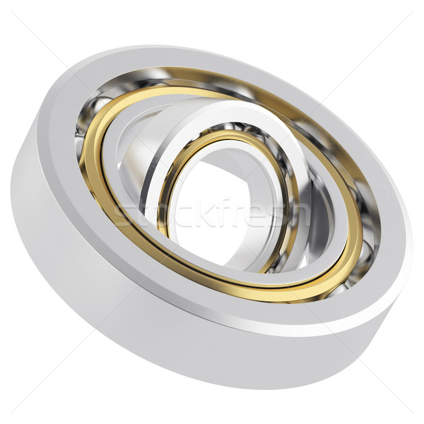 Isolated realistic whirling bearing Stock photo © ZARost
