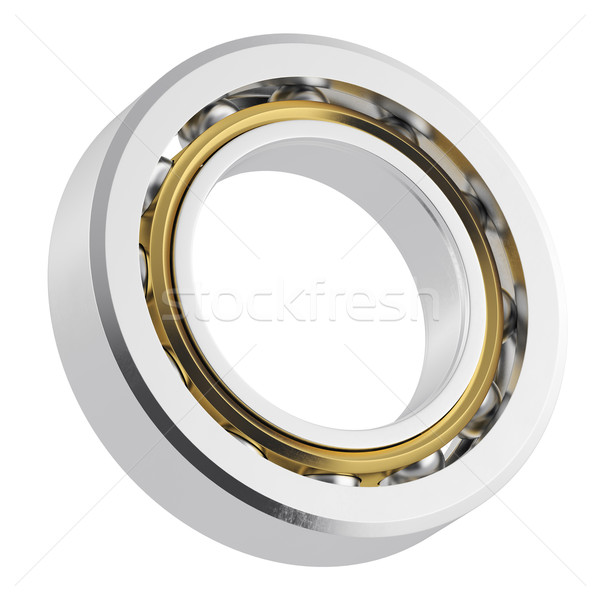 Metal bearing with attrition. Stock photo © ZARost