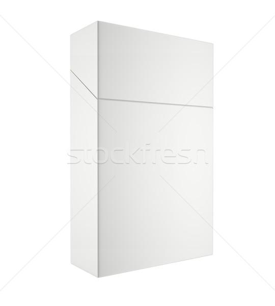 閉店 パック タバコ 孤立した 白 3次元の図 ストックフォト © ZARost