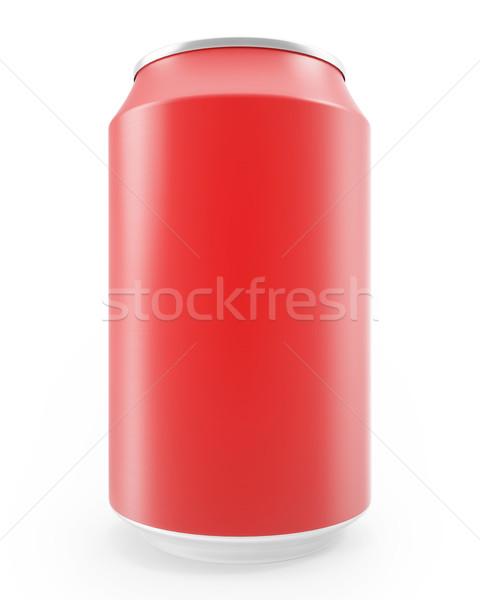 赤 金属 孤立した 白 アルコール ストックフォト © ZARost