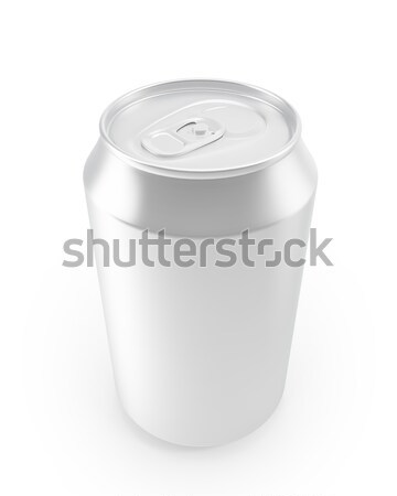 aluminum cans on a white background. Stock photo © ZARost