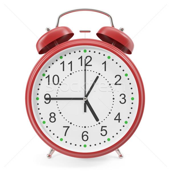 illustration of desktop alarm clock. Stock photo © ZARost
