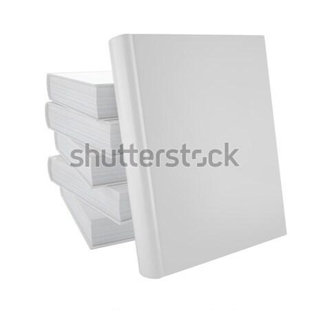 blank book cover Stock photo © ZARost
