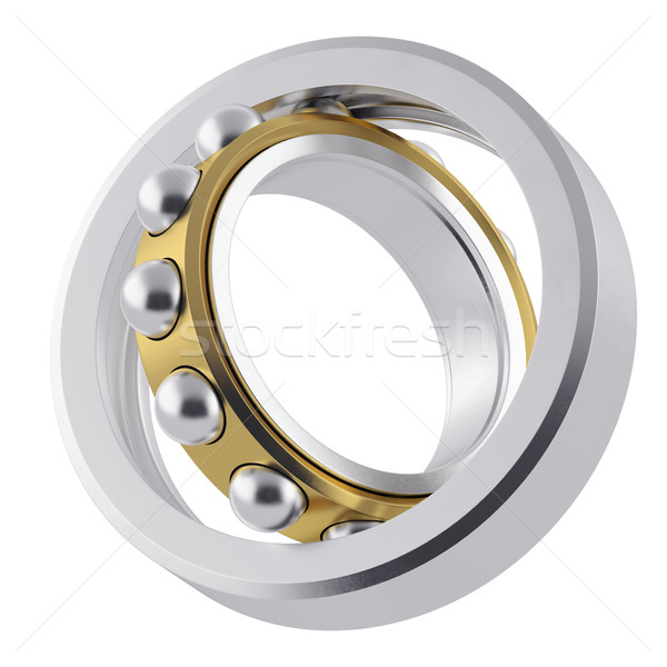 Metal whirling bearing with attrition. Stock photo © ZARost