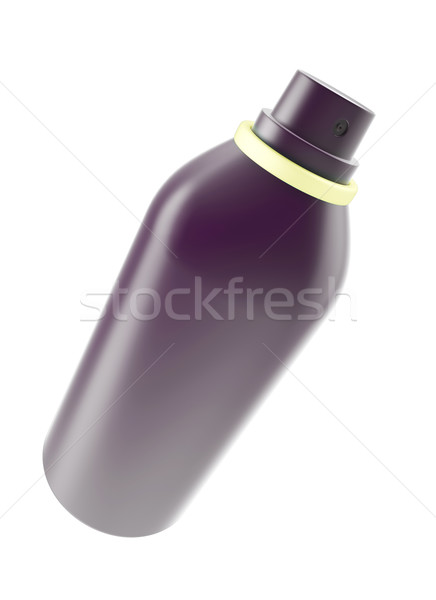 Open aerosol spray, hair spray, deodorant. Stock photo © ZARost