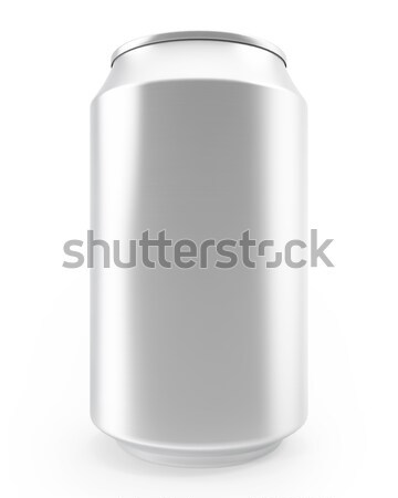 aluminum cans isolated on white background, alcohol and carbonated drinks. Stock photo © ZARost