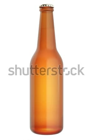 ビール瓶 孤立した 白 3次元の図 ボトル ビール ストックフォト © ZARost
