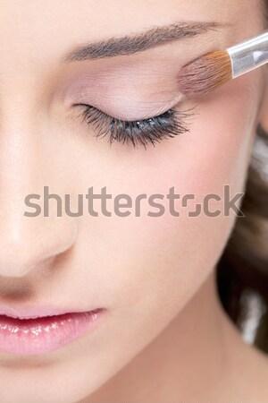 Piękna uzupełnić kobieta Zdjęcia stock © zastavkin