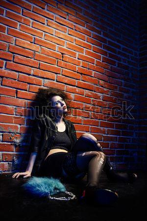prostitute Stock photo © zastavkin