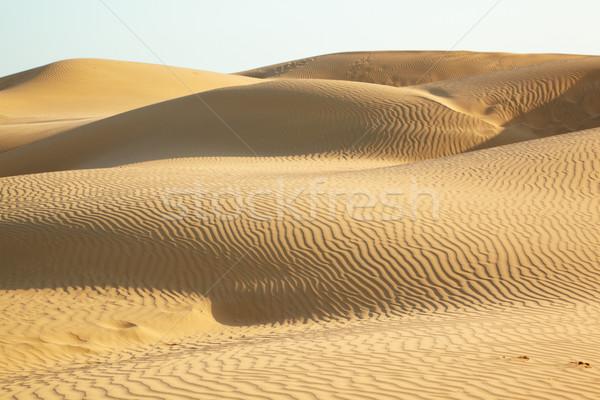 Areia deserto céu textura paisagem fundo Foto stock © zastavkin