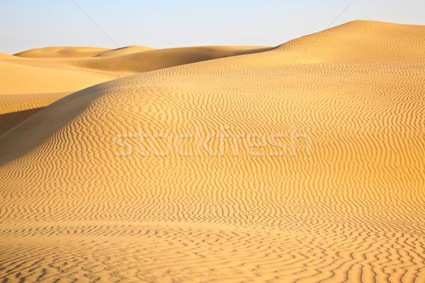 Areia deserto céu textura natureza paisagem Foto stock © zastavkin