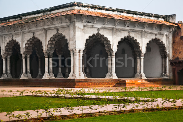 Pillar Gallery in Agra, Uttar Pradesh, India Stock photo © zastavkin