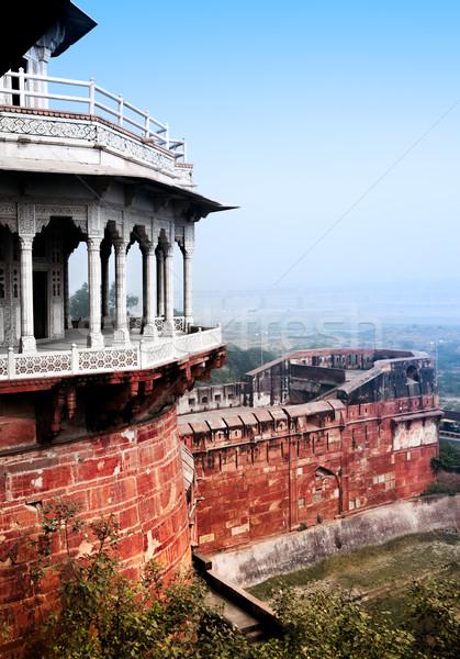 Agra Forth Stock photo © zastavkin