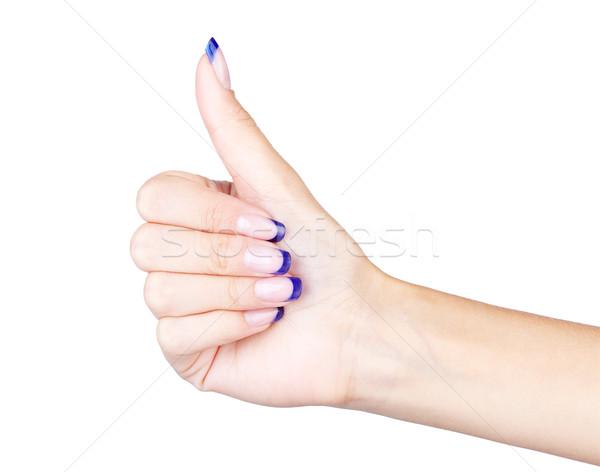 thumb up Stock photo © zastavkin
