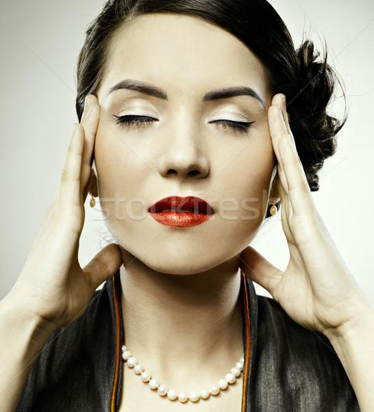 migraine Stock photo © zastavkin