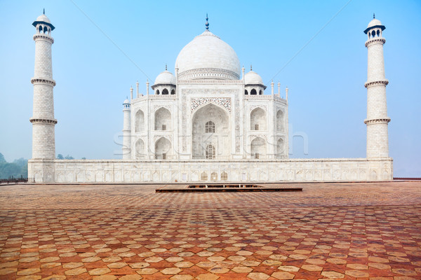Taj Mahal in India, front view Stock photo © zastavkin