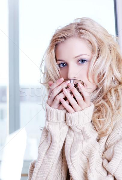morning tea Stock photo © zastavkin