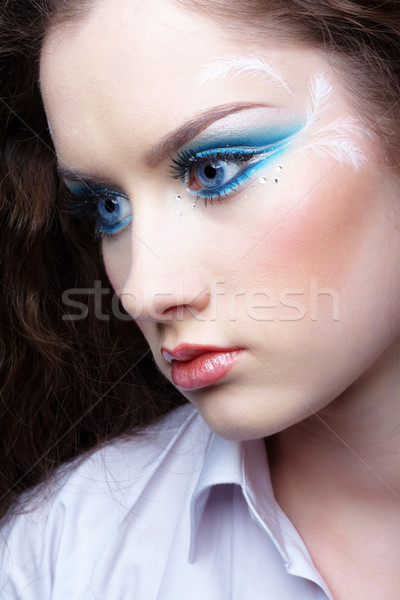 beautiful girl Stock photo © zastavkin
