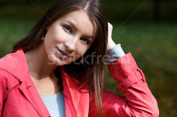 Stock photo: Portrait of girl