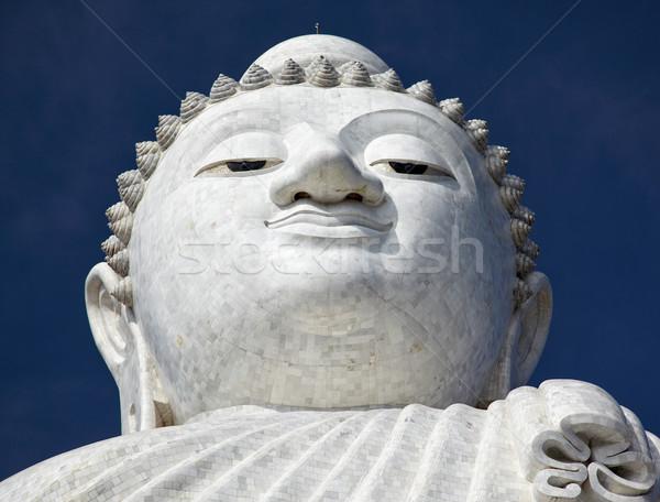Stock fotó: Nagy · Buddha · Phuket · márvány · szobor · kilátás