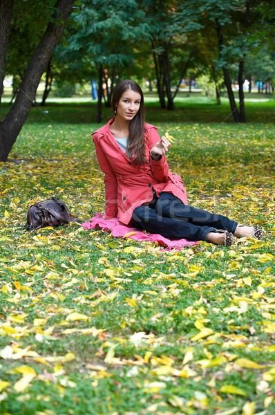 Girl in the Park Stock photo © zastavkin