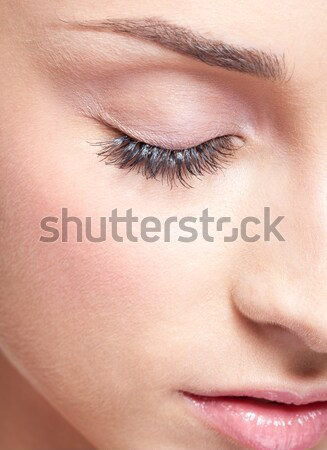 woman with healthy skin Stock photo © zastavkin