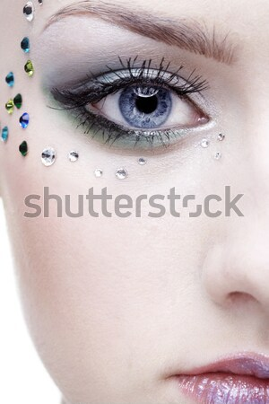 beautiful mermaid girl Stock photo © zastavkin