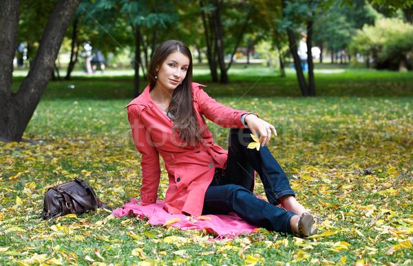 Stock photo: Girl in the Park