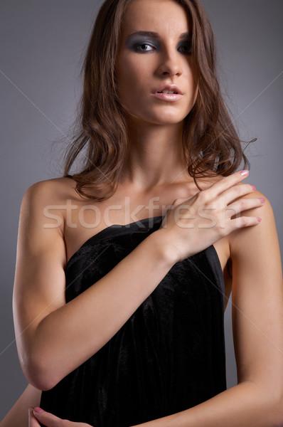 Stock photo: beautiful model