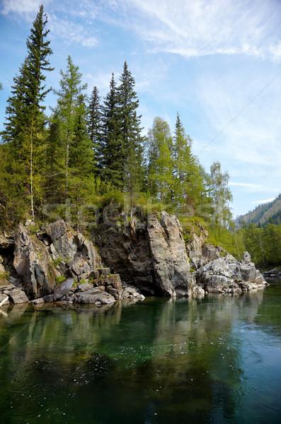 Stock photo: Altai river Kumir