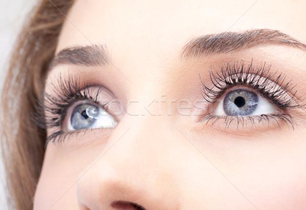 Zdjęcia stock: Kobieta · oczy · shot · oka · dzień