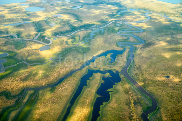 北 風景 風景 背景 夏 ストックフォト © zastavkin