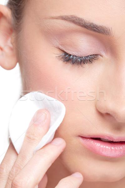 Skin hygiene Stock photo © zastavkin