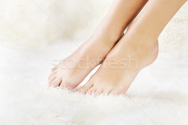 healthy legs Stock photo © zastavkin
