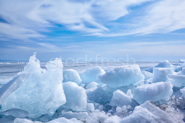 baikal in winter Stock photo © zastavkin