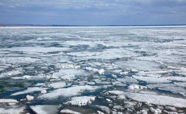 Ice drift Stock photo © zastavkin