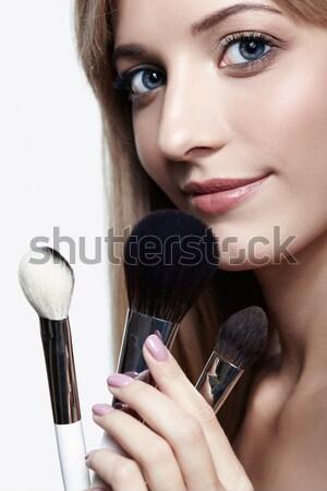 Portrait of beautiful girl Stock photo © zastavkin