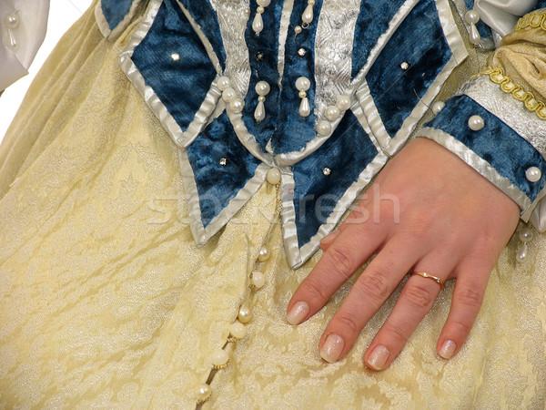 Ubrania 16 strony moda skóry Zdjęcia stock © zastavkin