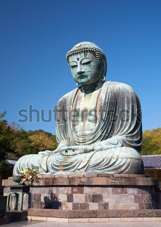 Great Buddha statue in Kamakura Stock photo © zastavkin
