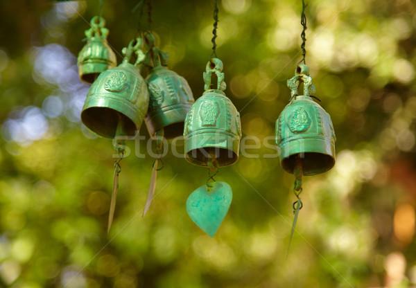 Stock fotó: Réz · buddhista · hely · istentisztelet · Phuket · fény