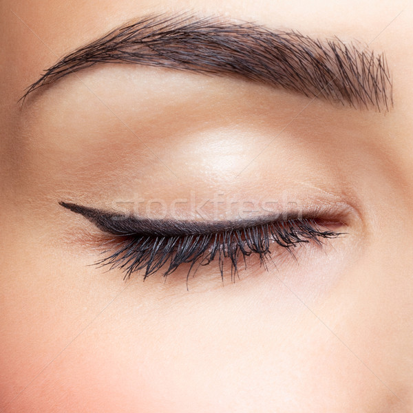 eye zone makeup Stock photo © zastavkin