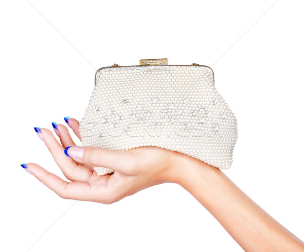 hand with clutch Stock photo © zastavkin