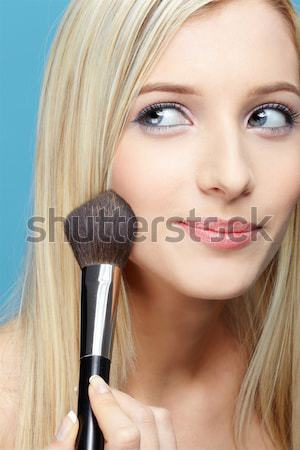 Stock photo: Portrait of beautiful girl