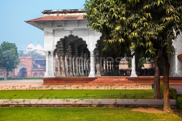 Stock photo: Pillar Gallery in Agra, Uttar Pradesh, India