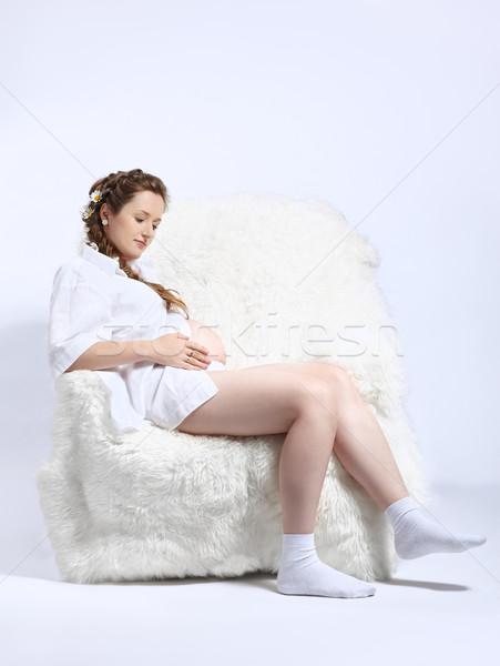 Беременные на кресле фото 100