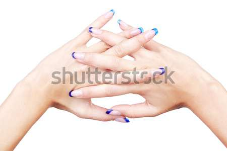 healthy hands Stock photo © zastavkin